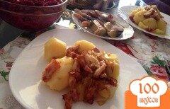 Фото рецепта: «Отварной картофель с зажаркой»