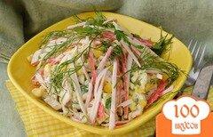 Фото рецепта: «Крабовый салат по-быстрому»