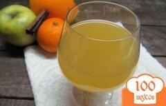 Фото рецепта: «Ликер из апельсина и яблока»