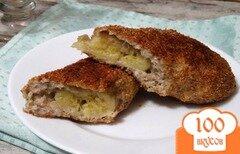 Фото рецепта: «Фитнесс-десерт: банан в творожно-овсяной шубе»