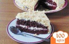 "Фото рецепта: «Торт ""Бордо""»"