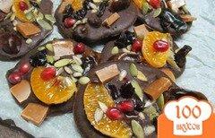 Фото рецепта: «Шоколадные батончики с начинкой»