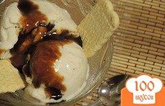 Фото рецепта: «Десерт из замороженных бананов»