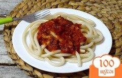 Фото рецепта: «Паста с соусом суго ди помидоро»