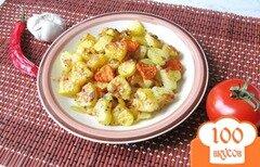 Фото рецепта: «Запечёный картофель ко дню Святого Валентина»