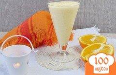 Фото рецепта: «Смузи с бананом и апельсином»