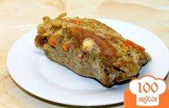 Фото рецепта: «Буженина из свиного балыка в горчице и специях»