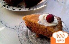 Фото рецепта: «Пирог с яблоком и маком в мультиварке с давлением»