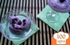 Фото рецепта: «Желе чернично-йогуртовое»