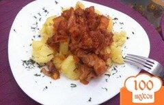 Фото рецепта: «Поджарка из свиниы»