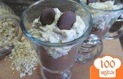 Фото рецепта: «Десерт из овсяных хлопьев»