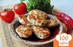 Фото рецепта: «Котлеты с сыром и петрушкой»