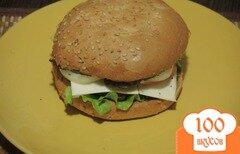 Фото рецепта: «Чизбургер по-домашнему»