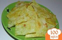 Фото рецепта: «Домашние чипсы из армянского лаваша»
