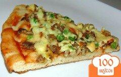 Фото рецепта: «Пицца с вешенками»