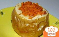 Фото рецепта: «Яблоки запеченные с тертой тыквой»