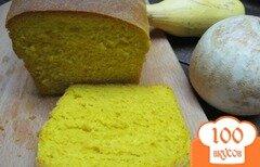 Фото рецепта: «Хлеб на кефире с куркумой»