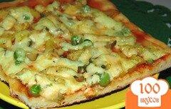 Фото рецепта: «Пицца с жаренным картофелем»