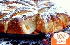 Фото рецепта: «Пирог с персиками»