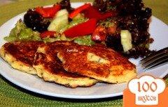 Фото рецепта: «Сырные оладьи»