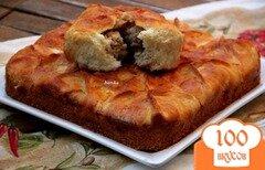 Фото рецепта: «Бюджетный закусочный пирог»