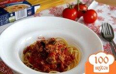 Фото рецепта: «Паста с тунцово-томатным соусом»
