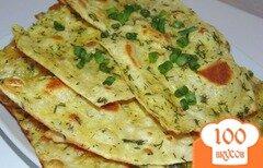 Фото рецепта: «Яичные гренки из армянского лаваша»