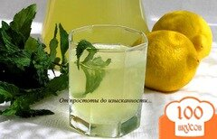 Фото рецепта: «Мятный лимонад»