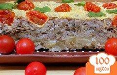 Фото рецепта: «Запеканка из гречки с грибами и капустой»