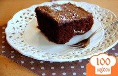 Фото рецепта: «Быстрый темный пирог»