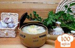 Фото рецепта: «Чеснечка - чешский чесночный суп (Česnečka)»