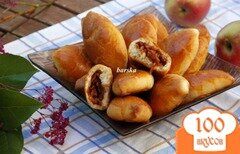 Фото рецепта: «Быстрые пирожки с яблоками»