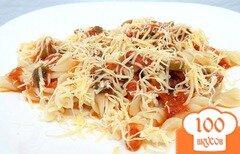 Фото рецепта: «Паста с вялеными помидорами»
