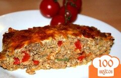 Фото рецепта: «Мясная запеканка с перловкой и овощами»