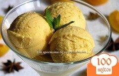 Фото рецепта: «Абрикосовое мороженое с бадьяном»
