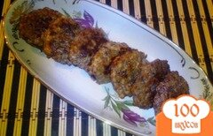 Фото рецепта: «Оладьи курино-печёночные»