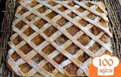 Фото рецепта: «Пирог с яблочным повидлом»
