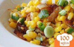 Фото рецепта: «Кукуруза с беконом»