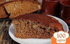 Фото рецепта: «Медовый пирог на кефире»