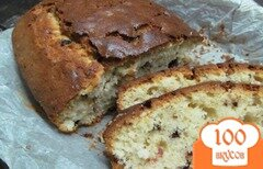 Фото рецепта: «Пирог с клюквой и шоколадом»