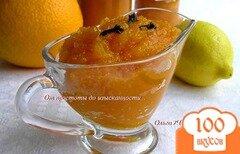 Фото рецепта: «Тыквенно-апельсиновый джем (в мульти)»