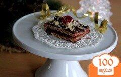 Фото рецепта: «Шоколадно-вафельные конфеты с черносмородиновым желе»