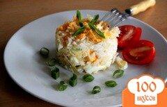 Фото рецепта: «Рисовая каша с яйцом»