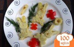 Фото рецепта: «Детское блюдо Картофельные зайцы»