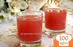 Фото рецепта: «Мятный вишневый кисель»