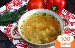 Фото рецепта: «Летний суп с цукини и цветной капустой»