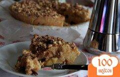 Фото рецепта: «Яблочный пирог на мацовой муке»