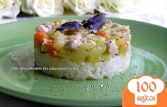Фото рецепта: «Рагу из курицы с овощами и рисом»