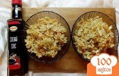 Фото рецепта: «Японский рис с соевым соусом и овощами»