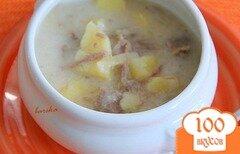 Фото рецепта: «Жаркое из картофеля, варенного мяса в сливочном соусе»